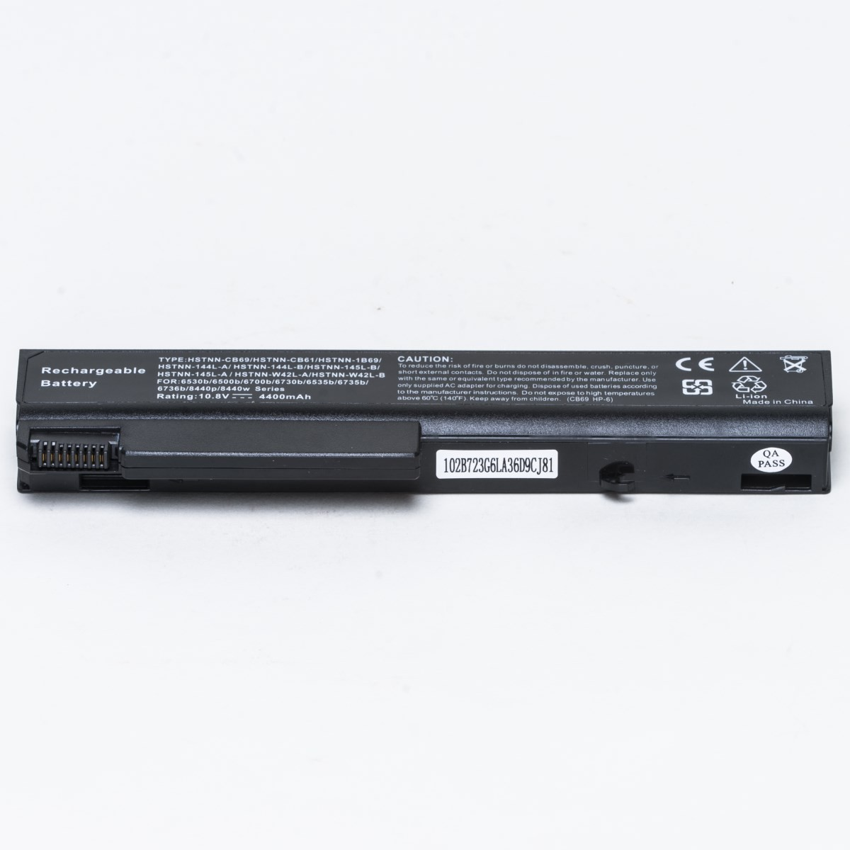how to use new laptop battery